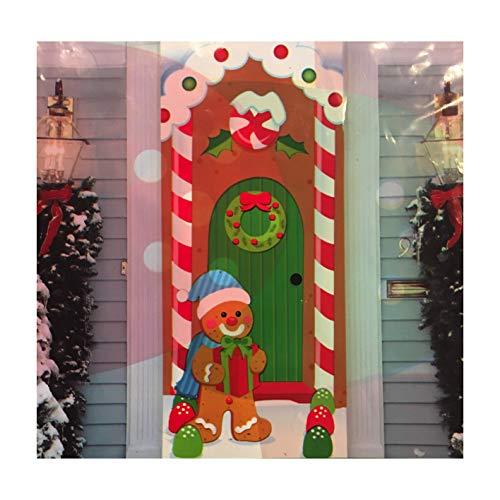 Gingerbread Door - Midwood Brands, LLC Christmas Door Covers