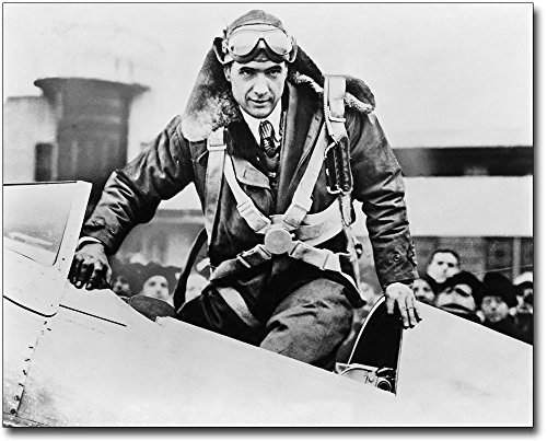 Young Aviator Howard Hughes in Cockpit 8x10 Silver Halide Photo Print