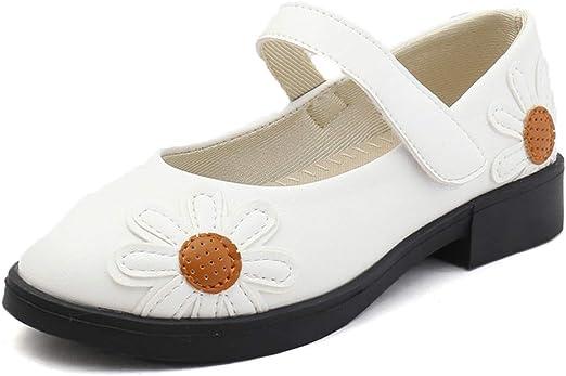 LANSKIRT_Zapatos Niña Princesa Zapatillas Bebe Niña Verano Calzado con Tira En El Talón Desmontable Sandalias de Cuero de Fiesta Individual Patucos: Amazon.es: Ropa y accesorios