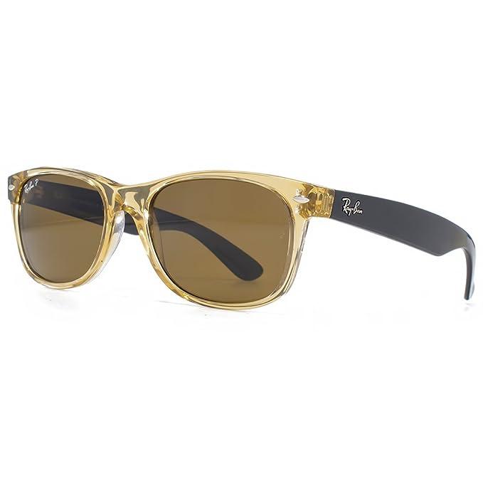Ray-Ban Nuevas gafas de sol Wayfarer en color marrón miel ...