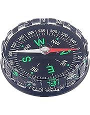Tbest Mini Pocket Kompas, Draagbaar Survival Kompas Professionele Knop Kompas Navigatie Tool Vervanging voor Wandelen Cam Boot Backpacken