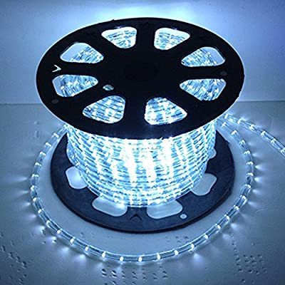 Russell Decor 200' Outdoor LED Decoration Rope Lights Kit Included