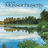 Massachusetts Wild & Scenic 2020 12 x 12 Inch Monthly Square Wall Calendar, USA United States of America Northeast State Nature