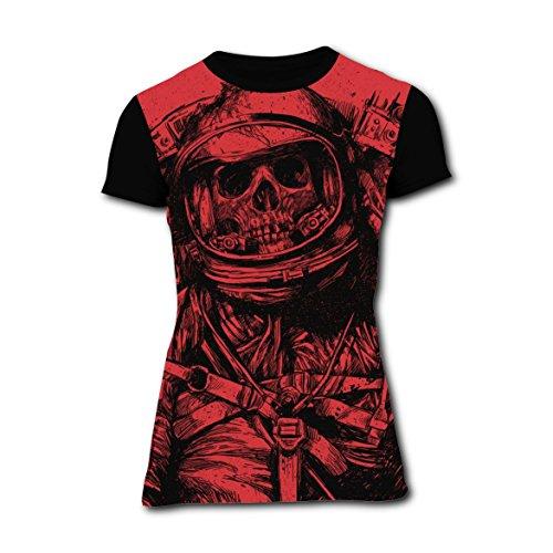 T-shirts Tee Shirt for Women Tops Costume Dead Space Art Lastronaut XL (Women's Plus Size Space Costume)