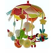 SHILOH Baby Crib Decoration 60 tunes Lullabies Plush Musical Mobile (Monkey Carnival)