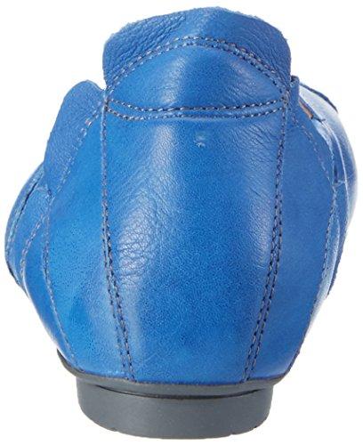 Think! 80464, Bailarinas Mujer Azul (JEANS/KOMBI 84)