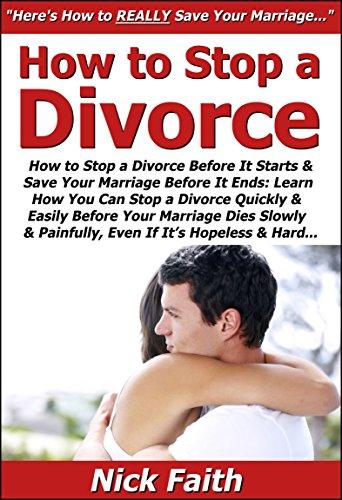 Can i stop a divorce
