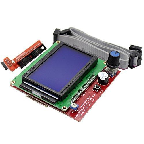Graphic Lcd - CHANGTA LCD 12864 Graphic Smart Display Controller Module for RAMPS 1.4 RepRap 3D Printer Mendel Prusa Arduino