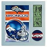 Wincraft Denver Broncos Desk Clock