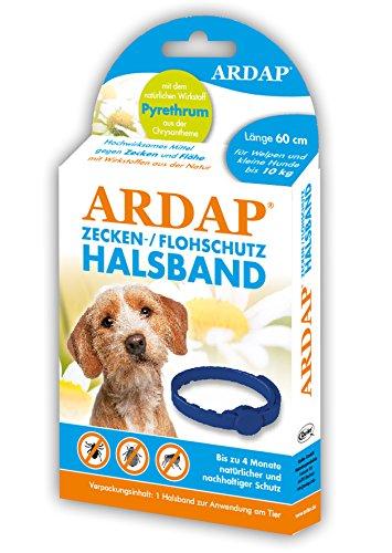 Quiko 077200 Ardap Zecken- und Flohschutzhalsband für Welpen und Kleine Hunde bis 10 kg