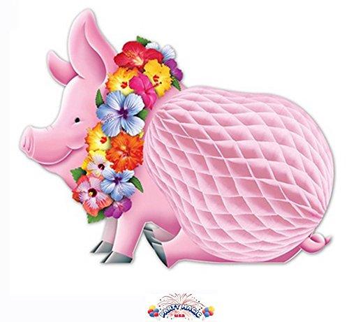 beistle-55334-luau-pig-centerpiece-12-inch