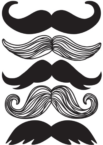 How to buy the best mustache decal?