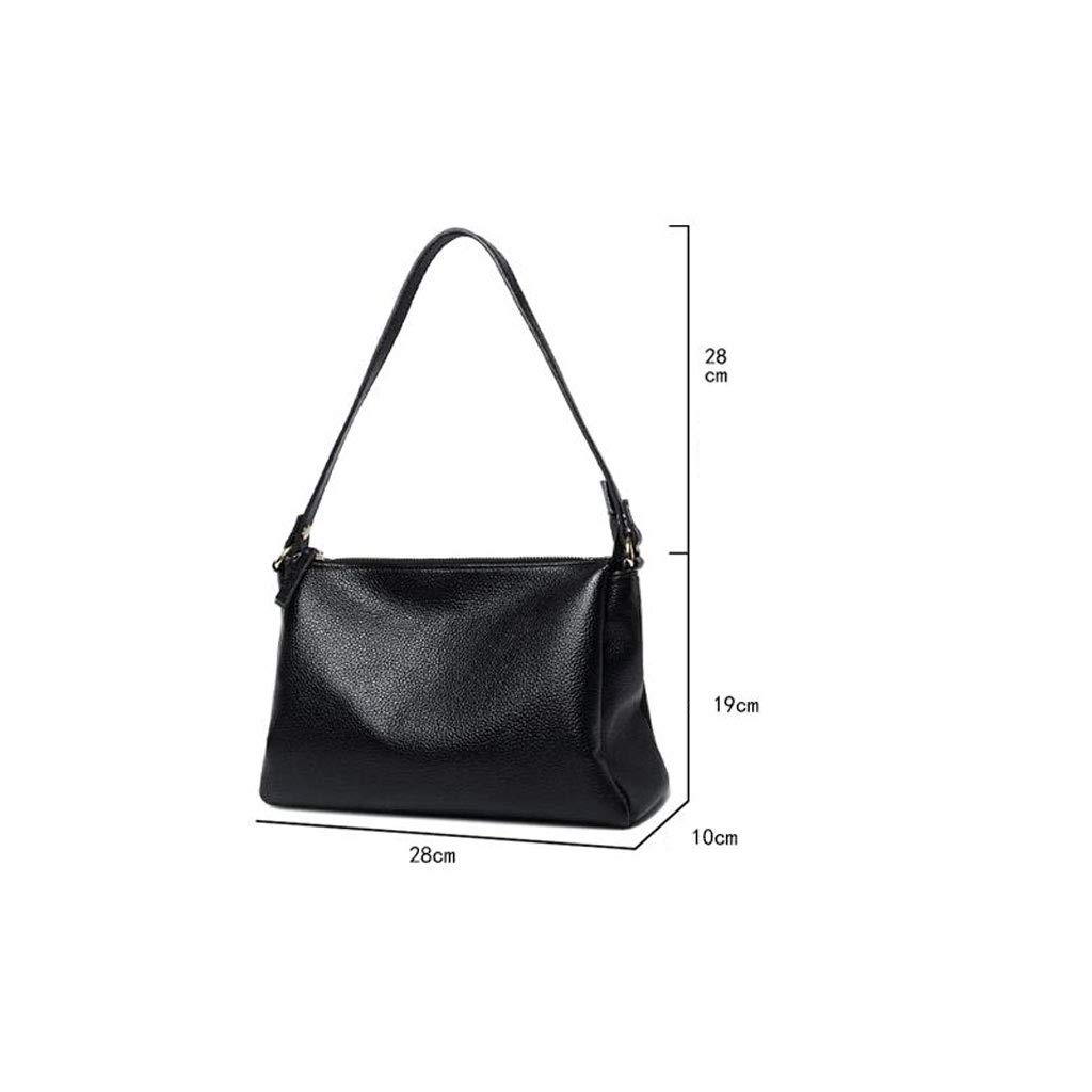 Leather Bag Color : A, Size : 28cm10cm19cm Shoulder Messenger Bag Large Capacity Kmgjc Shoulder Bags for Ladies