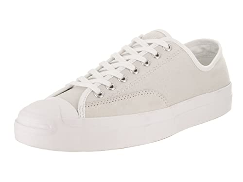 d7cbdbfc303c Converse Unisex Jack Purcell Pro Ox Pale Putty White White Basketball Shoe  6 Men