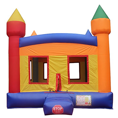 Commercial Bargains Inflatable Castle Commercial Grade A Bounce House Bouncy Jumper + Blower