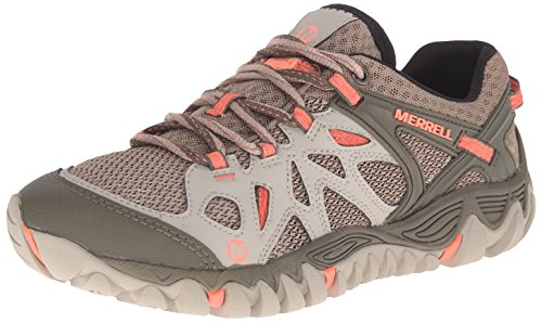 Merrell Women's All Out Blaze Aero Sport Hiking Water Shoe, Beige/Khaki, 8 M US by Merrell