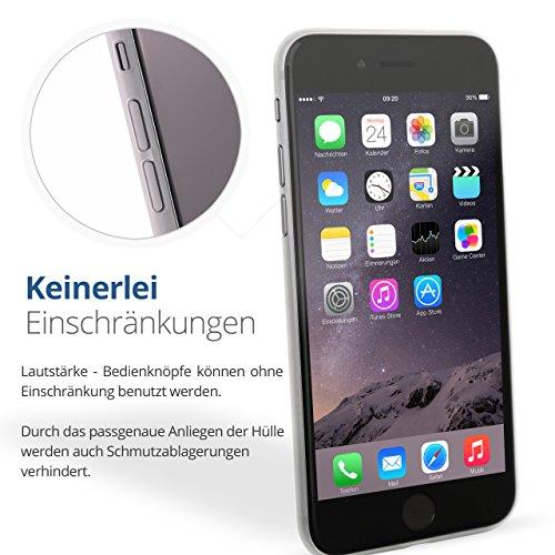 iPhone 6 Plus / 6s Plus Schutzhülle von Danura   matt milchig Cover Bumper Hülle Case