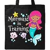 Inktastic - Mermaid in Training Tote Bag Black 2ef7c