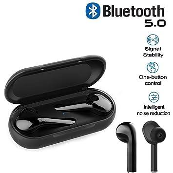 Auriculares Bluetooth Inalámbrico 5.0, Auriculares Bluetooth ...