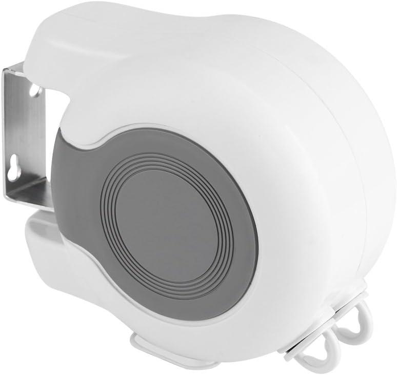 Victool Tendedero tendedero para secar Ropa 13m Herramienta Landry Interior Doble Exterior Lavadora retr/áctil