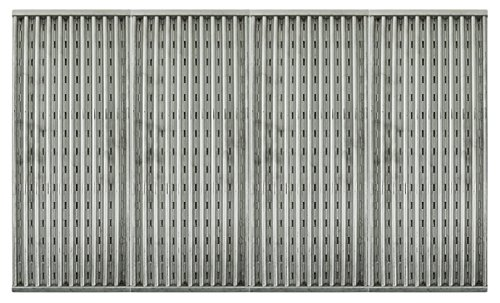 Stamped Stainless Steel Cooking Grid Replacement for Select Charbroil Gas Grill Models, Set of 4