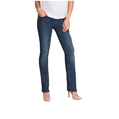 1968744333f3a Overbump Maternity Jeans. Liz Lange (16): Amazon.co.uk: Clothing