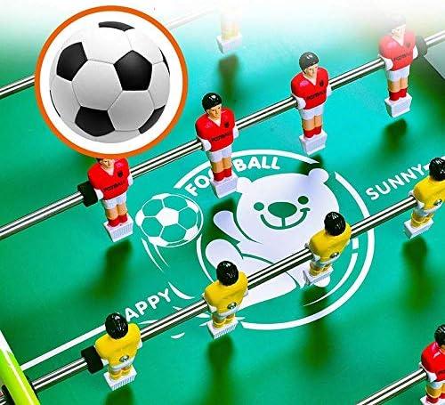 AJH 36 Inch 8-polige voetbaltafel Houten tafelvoetbal voor kinderen 3-14 jaar oud Trainingstafel Speelgoed Jongen Meisje Volwassen entertainment Interactieve multiplayer