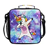 Best Box With Cooler Lunches - Unicorn Kids Lunch Box Insulated Lunch Bag Large Review