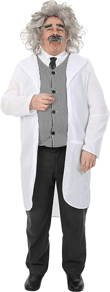 ORION COSTUMES Adult Male Albert Einstein Costume: Amazon.es: Ropa ...