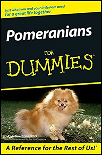 Pomeranians For Dummies D Caroline Coile Amazon - Someone should have told this dog owner that pomeranians melt in water