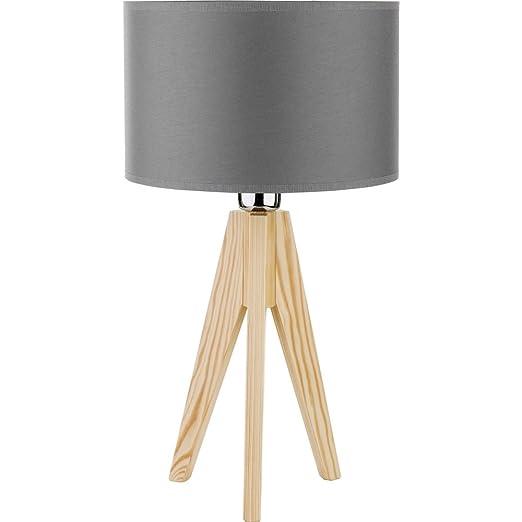 Lámpara de mesa moderna 1 x 60 W/E27 DOVE WOOD 3003 TK Lighting ...