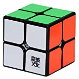 MoYu YJ Lingpo 2 x 2 x 2 Speed Cube Puzzle Smooth Black Puzzle