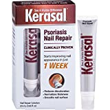 Kerasal Nail Psoriasis Repair - Clinically Tested - New Product for Dry, Cracked, Discolored, Pitted, and Very Brittle Nails - Improvement in Just One Week, 20 mL