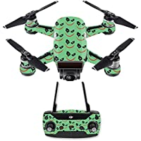 Skin for DJI Spark Mini Drone Combo - Why So Serious| MightySkins Protective, Durable, and Unique Vinyl Decal wrap cover | Easy To Apply, Remove, and Change Styles | Made in the USA