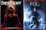The Descent Unrated , the Fog Unrated : Horror 2 Pack