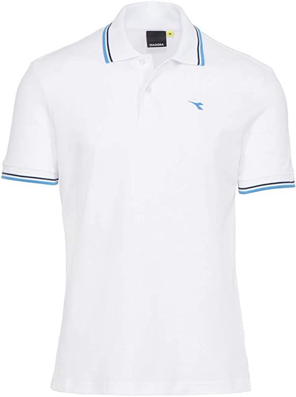 Diadora - Camiseta Tipo Polo Polo PQ para Hombre ES S: Amazon.es ...