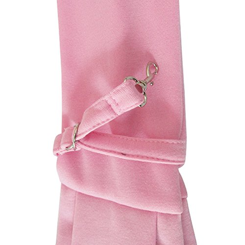 Pineocus Light Pink Cotton Blend Pet Dogs Sling Carrier Bag by Pineocus (Image #6)