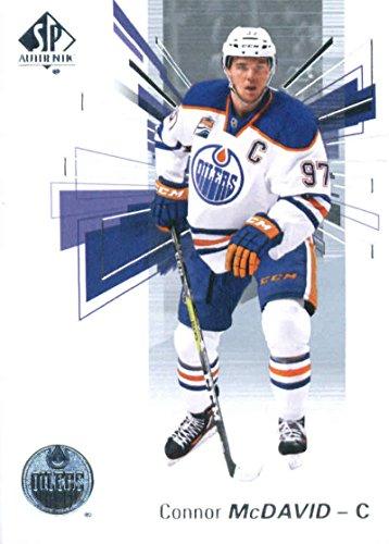 2016-17 Upper Deck SP Authentic #97 Connor Mcdavid Edmonton Oilers Hockey Card