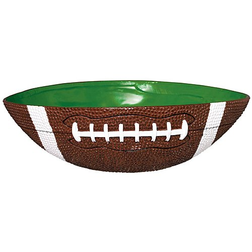 Amscan Football Frenzy Birthday Party Large Bowl Tableware, 1 Pieces, Made from Plastic, 12 1/2'' x 10''