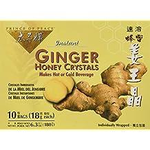Prince Of Peace Enterprises Inc Ginger Honey Crystals 10 Pkts, Box