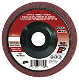 Pearl 4-1/2'' x 7/8'' Al/Ox Surface Preparation Wheel (Pack of 10)