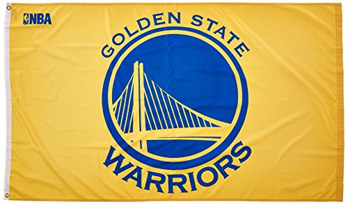 WinCraft NBA Golden State Warriors Deluxe Flag, 3' x 5'