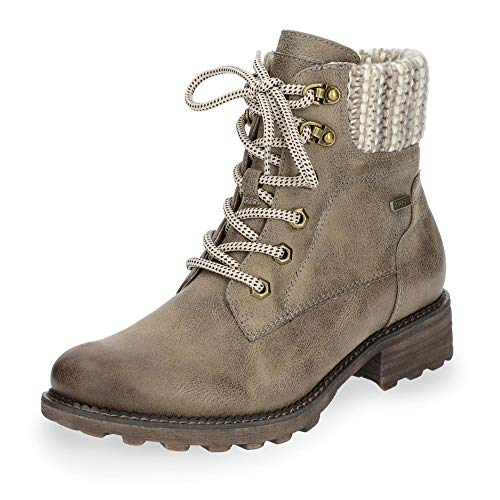 Tamaris up Women's Lace Boots Taupe 21 26249 4wB4qxzFr