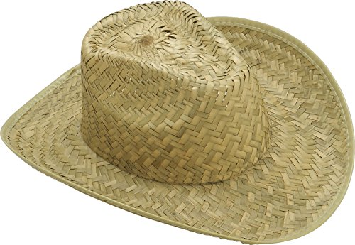 Forum Novelties Straw Cowboy Hat Adult (One-Size)