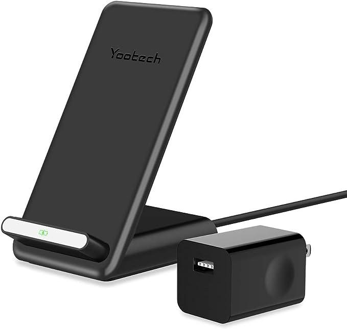 Amazon.com: Yootech cargador inalámbrico rápido con ...