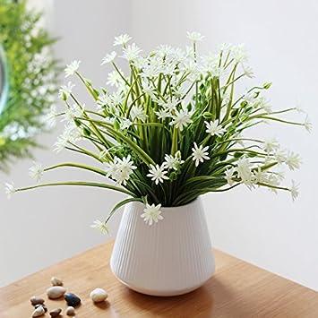Amazonde Kunstblumen Orchidee Frische Kleine Vasen Von Blumen