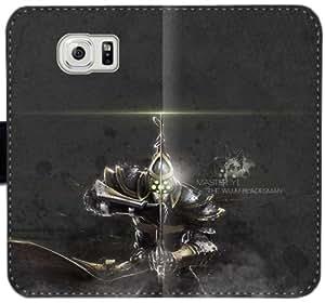 Proyecto Yi Z1V6Y Funda Samsung Galaxy S6 Edge caja de cuero funda 726661 del caso del tirón del teléfono Funda protectora de plástico