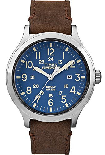 timex-mens-tw4b06400-expedition-scout-43-brown-blue-leather-strap-watch