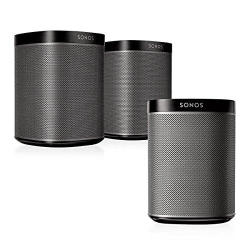 (Sonos Play:1 Multi-Room Digital Music System Bundle (3 - Play:1 Speakers) - Black )