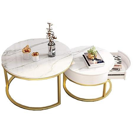Conjuntos de mesas apilables | Conjuntos de 2 piezas Mesa de té ...